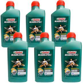 kit-6-unidades-castrol-magnatec-5w30