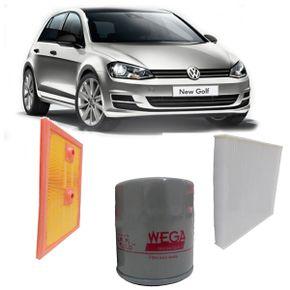 kit-3-filtros-volkswagen-golf-1.4-2014-diante