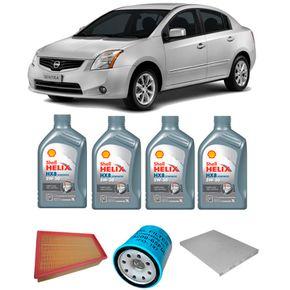 kit-t-oleo-shell-5w30-nissan-sentra-2.0-gasolina-2008-e-2009