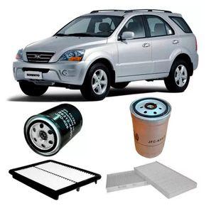 kit-filtro-kia-sorento-2.5-16v-crdi-diesel-2007
