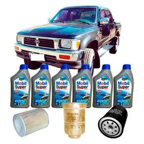 kit-t-oleo-10w40-toyota-hilux-2.8-1996-a-2001