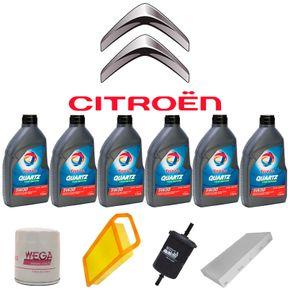 kit-troca-de-oleo-total-5w30-citroen-c6-3.0-2006-a-2008