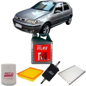 kit-troca-oleo-selenia-15w40-fiat-palio-1.0-fire-2000-a-2006