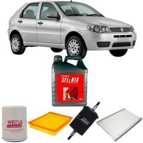 kit-troca-oleo-selenia-15w40-fiat-palio-1.3-flex-2004-a-2009