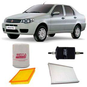 kit-filtro-fiat-siena-1.4-8v-tetra-fuel-2007-a-2012