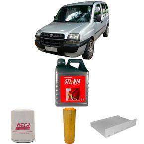 kit-troca-de-oleo-selenia-k-15w40-doblo-1.3-16v-fire-2001-a-2006