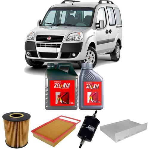 kit-troca-de-oleo-selenia-15w40-fiat-doblo-1.8-flex-2010-a