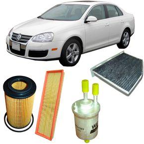 Kit-Filtro-Volkswagen-Jetta-2.5-20V-Gasolina-2007-a-2010