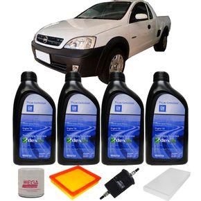 Kit-Troca-Oleo-Gm-5w30-Chevrolet-Montana-Flex-2007-A-2011