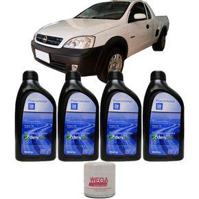 4-Oleos-Gm-5w30---Filtro-Chevrolet-Montana-Flex-2007-A-2011