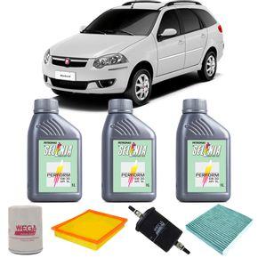 Kit-Oleo-Selenia-5w30-Fiat-Palio-Weekend-1.4-2012-A