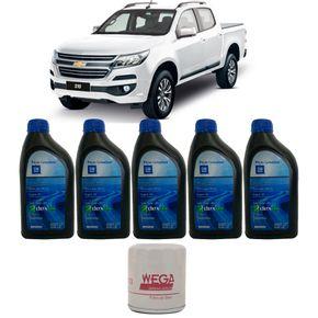 5-Oleos-Gm-5W20---Filtro-Oleo-Chevrolet-S10-2.5-Flex-2015-A