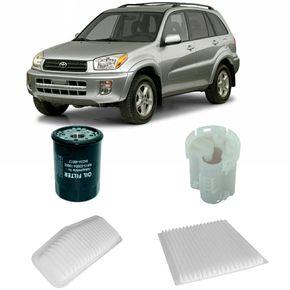 Kit-Filtros-Toyota-Rav4-2.0-Gasolina-2001-A-2005