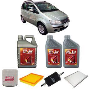 Kit-Troca-Oleo-Selenia-5w30-Fiat-Idea-1.8-Flex-2005-A-2010