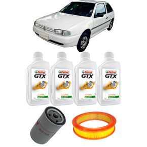 Kit-Troca-Oleo-Castrol-20W50-Volkswagem-Gol-1.8-1994-A-1997