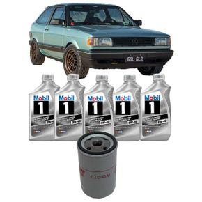 Kit-T-Oleo-Mobil-One-0W40-VW-Gol-GL-Turbo-1.8-1991