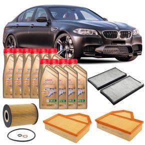 Kit-Troca-Oleo-Castrol-10W60-BMW-M5-5.0-V10-2005-2010